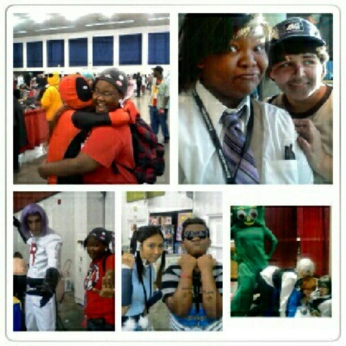 Best moments of #Fanime 2012 :) (Taken with Instagram at Where Jésus used the bathroom)