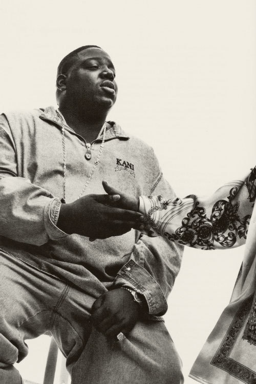 "Photograph (1996) Biggie Smalls // Vibe Magazine (Part 3) ""Brawl nights I perform like Mike, anyone Tyson, Jordan, Jackson…"" - The Notorious B.I.G. // Victory Click here to view more of Biggie Smalls in Vibe Magazine. Photo Source: Vibe.com"