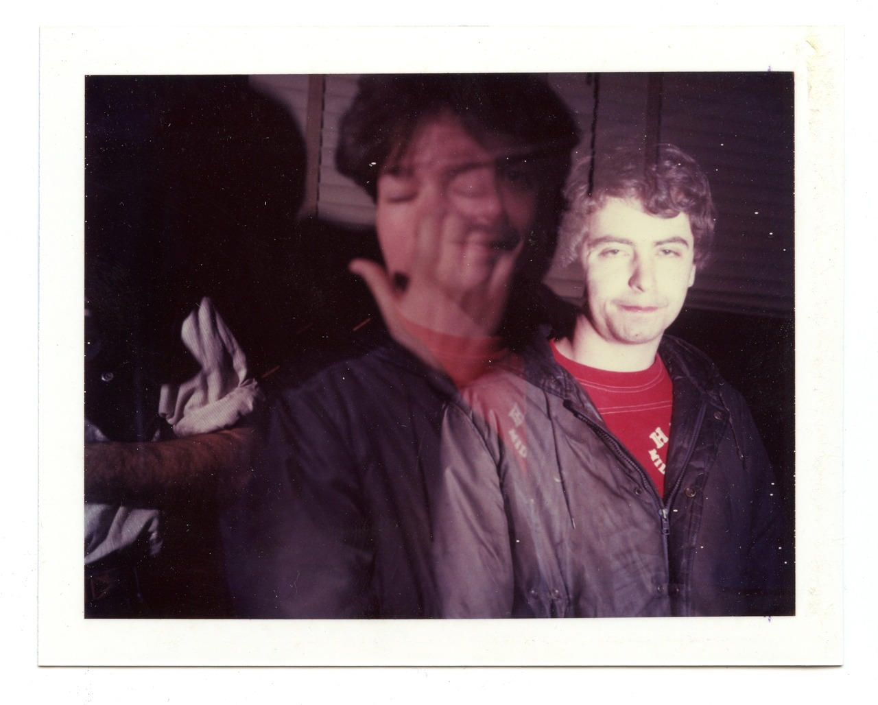 billdaniel:  Polaroid series, #1 Daniel Johnston, 1985, Bill Daniel  Two of my all time favorite artists.