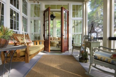 georgianadesign:  Rear porch in Charleston. Group 3.