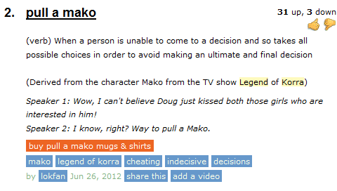"sassy-gay-jake-english:  im gonna buy a shirt that says ""pull a mako"""
