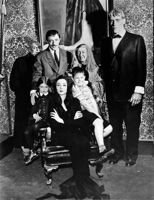 vintagegal:  The Addams Family (1960's)