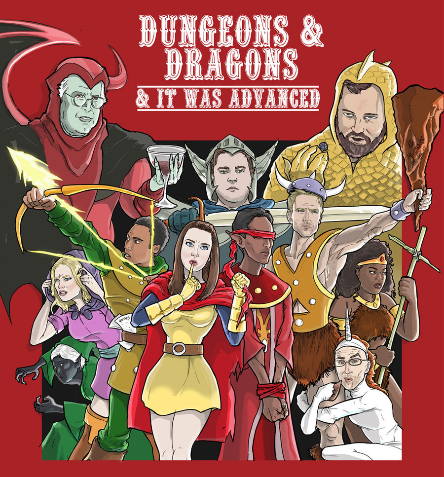 Dungeons and Dragons and It Was Advanced by ~kinjamin