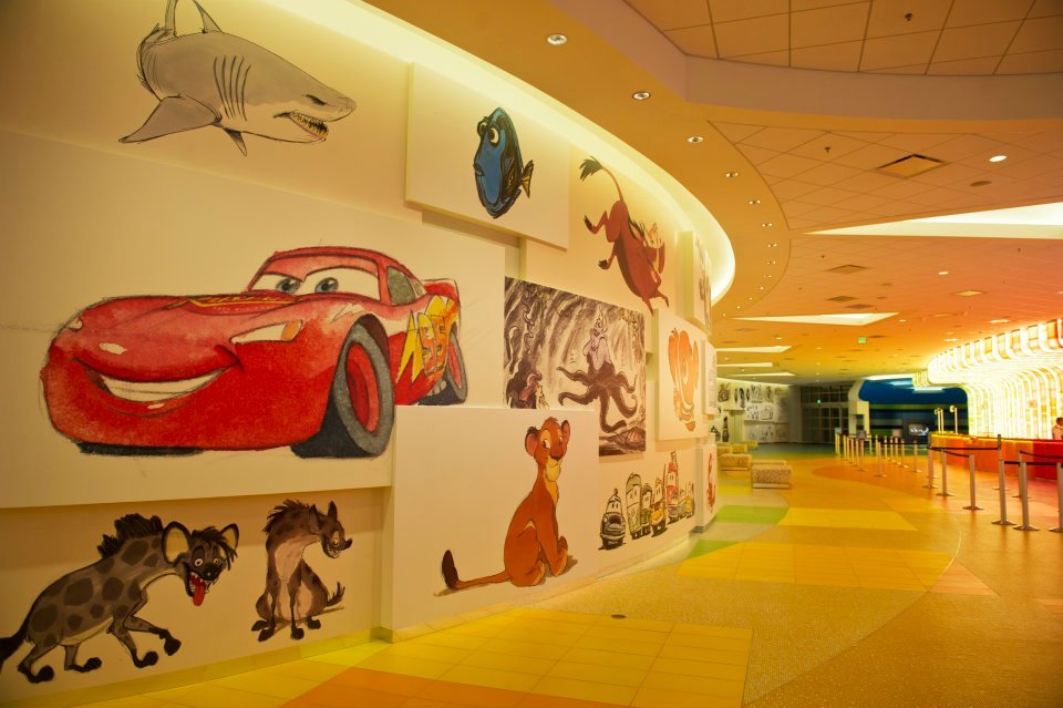 Disney Art Of Animation Resort Hallway