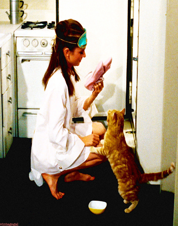 vintagegal:  Audrey Hepburn in Breakfast at Tiffany's (1961)