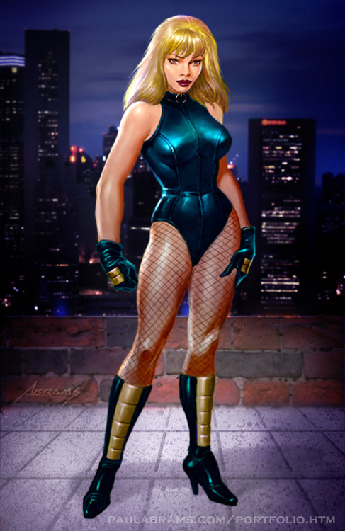 Black Canary Commissionby ~PaulAbrams