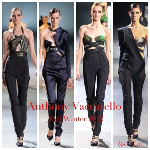Love this Anthony Vaccarello Collection. Def see some red carpet options for the Teen Choice Awards. @anthonyvacc (Taken with Instagram)