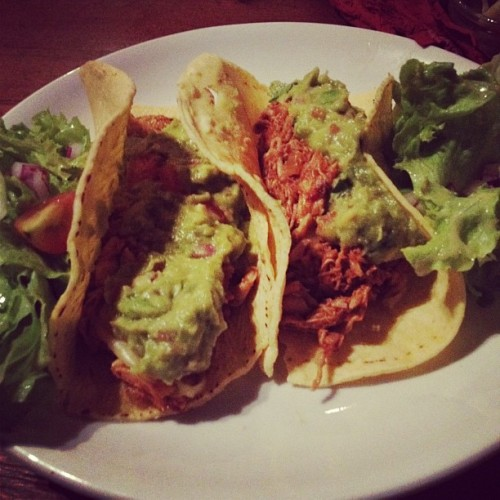 Second plate #tacos #mexican #night in #carders #🐷 (Taken with Instagram at Carders Public House)