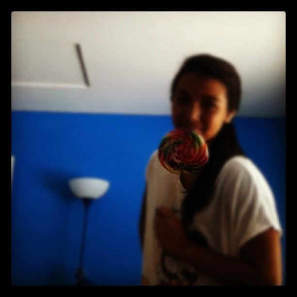 Bigass lollipop.          😜 (Taken with Instagram)