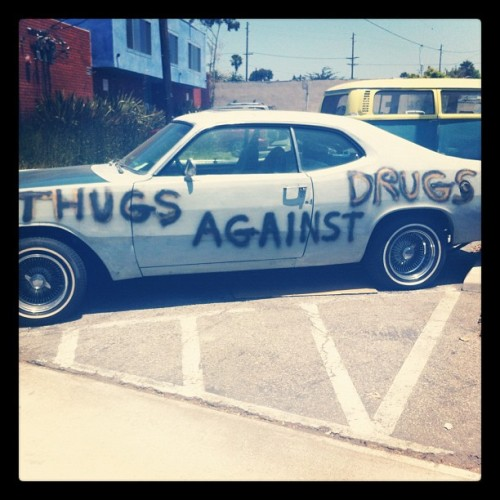 Thugs against drugs (Taken with Instagram)