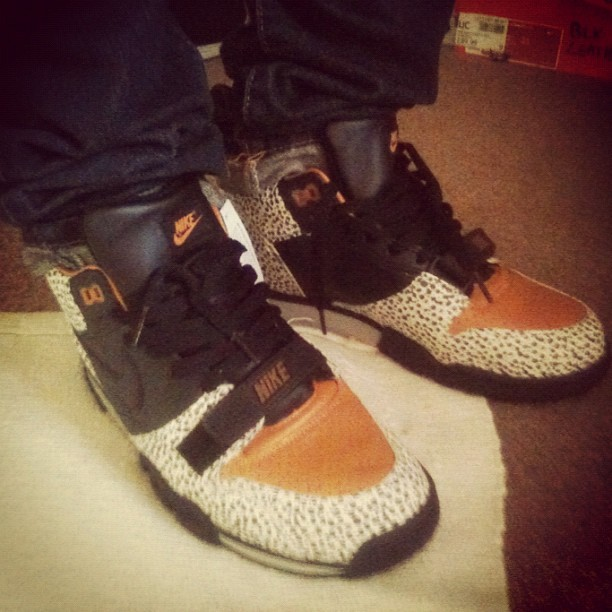 #air #trainer #1 #safari (Taken with Instagram)