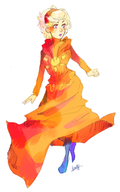 God tier…dress… instead of accurate god tier outfit because i wanted rose in boots /choked