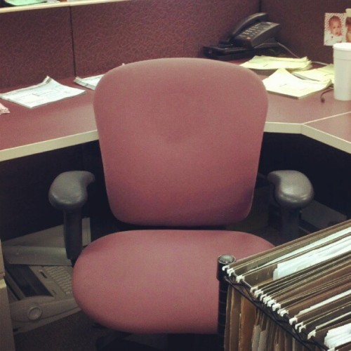 #photoadayjuly #daysix My #chair for work #instagram (Taken with Instagram)
