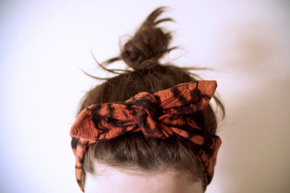 Bandanas - rising trend, get in on it first. Additional inspiration from Some Notes on Napkins