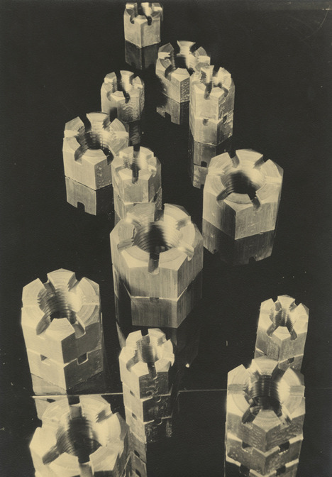 Margaret Bourke-White Untitled, 1930s Gelatin silver photograph. 1930s print.  Provenance: Danziger Gallery 12 3/4 X 8 7/8 inches Frame included Donation of Stephen Daiter Gallery ©Margaret Bourke-White