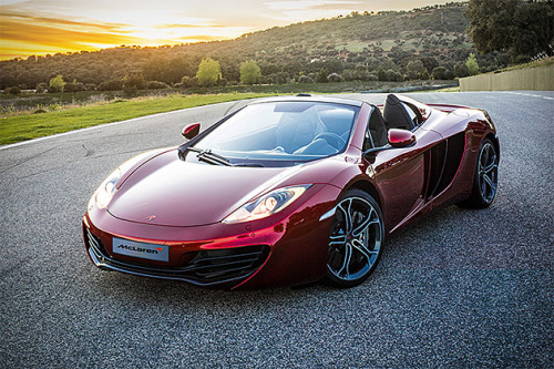 MCLAREN MP4-12C SPIDER This Car + Beers + Ocean View = Heaven!