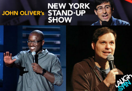 laughspin:  John Oliver's New York Stand-Up Show is back July 20, so let's watch a preview! John Oliver's New York Stand-Up Show returns to Comedy Central July 20 at 11 pm ET. Follow the link to watch a brand-new trailer for the third season to get you excited, featuring Hannibal Burress, Michael Ian Black, Hari Kondabolu, Mike Lawrence and more!