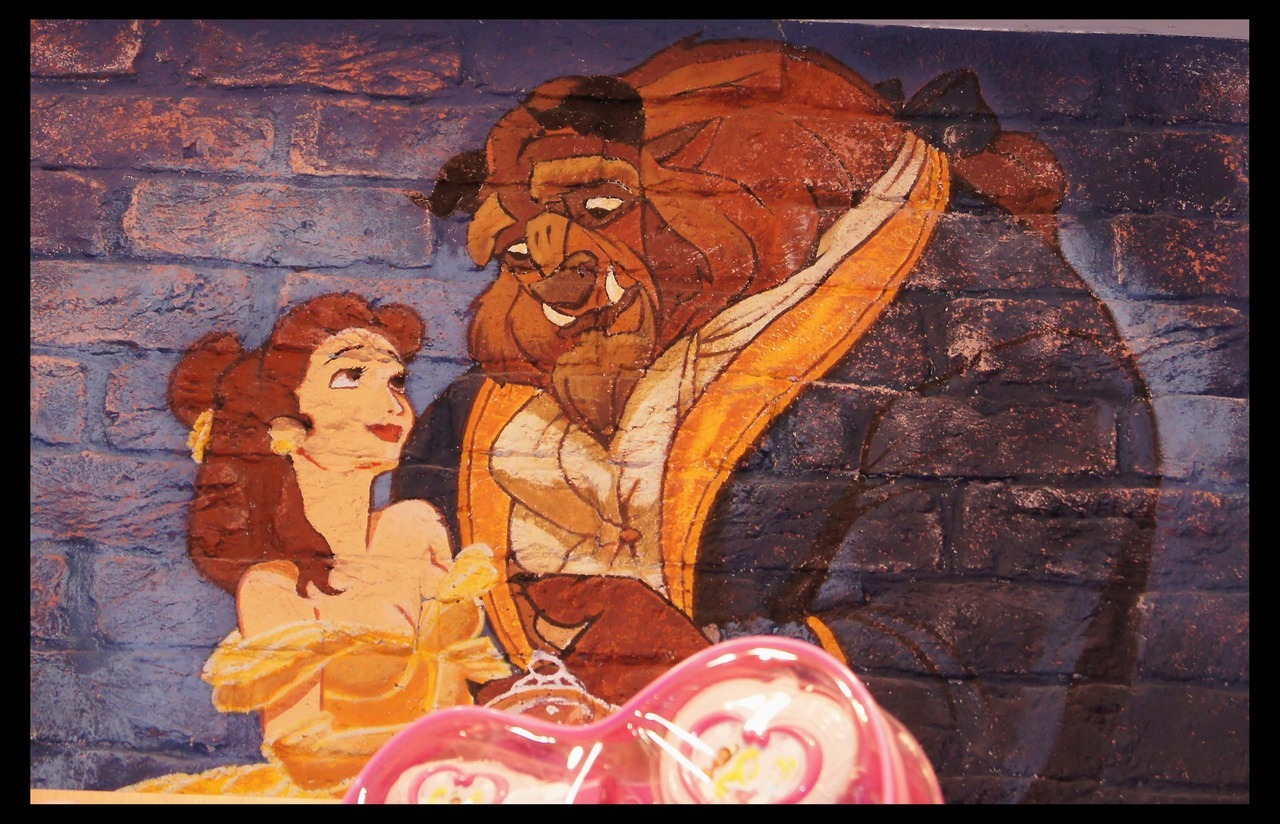 Beauty And The Beast Mural