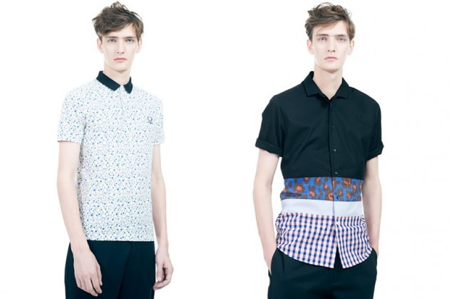 RAF SIMONS for FRED PERRY S/S 13 <3