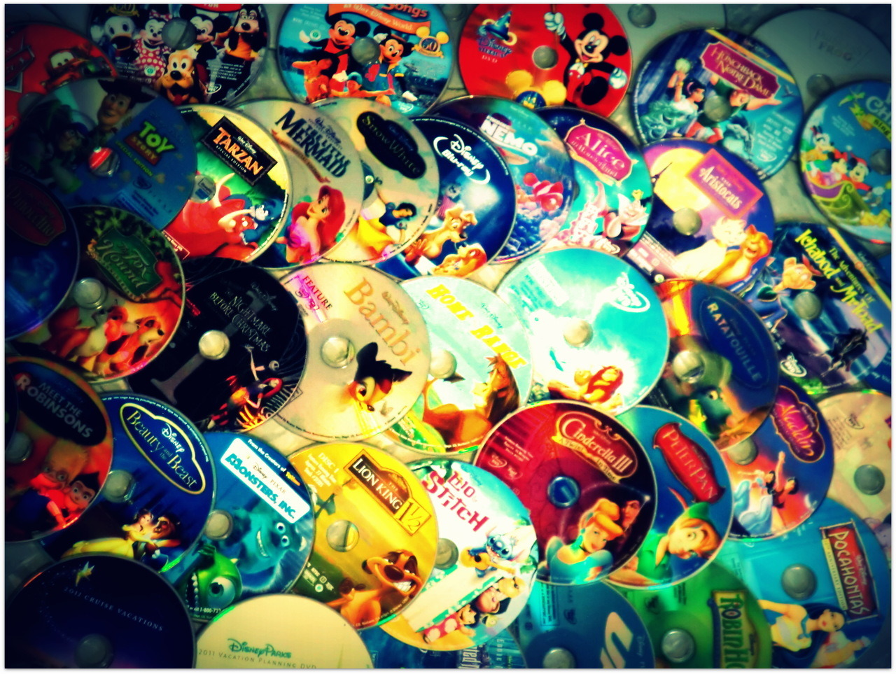 My Disney DVD Discs <3