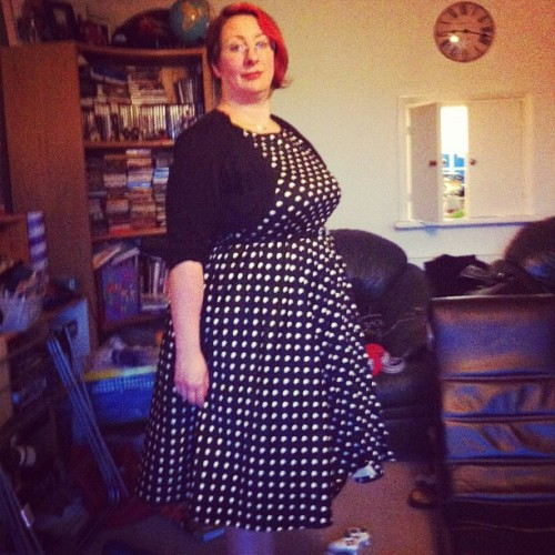 New dress (and 20 chins) (Taken with Instagram)