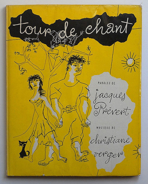Jacques Prévert: Tour de chant via alexisorloff on Flickr.