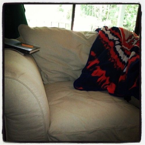My comfy cozy reading chair #instagram #photoadayjuly  (Taken with Instagram)