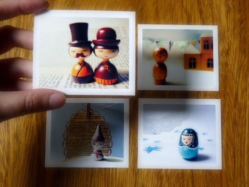 (via 4 Mini Photo Set Mininas Two by zime on Etsy)