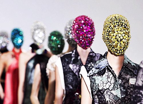 Martin Margiela Fall 2012 Couture Runway Finale