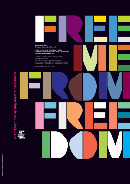 Free me from the freedom by Nevill Brody