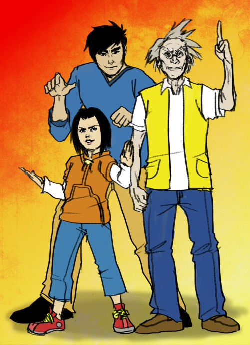 day 57 - JACKIE CHAN ADVENTURES (request) DAMN, this brings back memories!!! best show ever, therefore best. request. ever.  :D