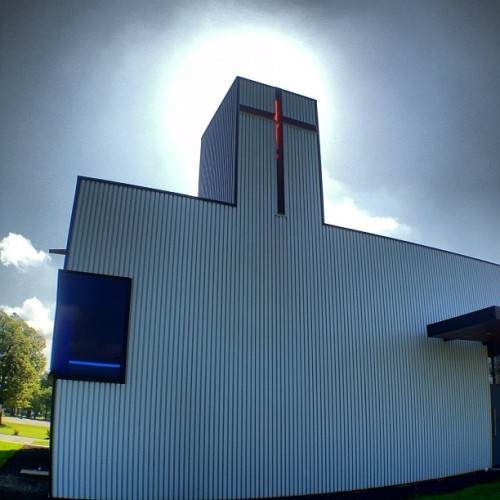 Saint Nicholas Eastern Orthodox #Church by Marlon Blackwell #architecture #arkansas #archdaily #instagood #iphonesia  (Taken with Instagram at St Nicholas Eastern Orthodox Church)