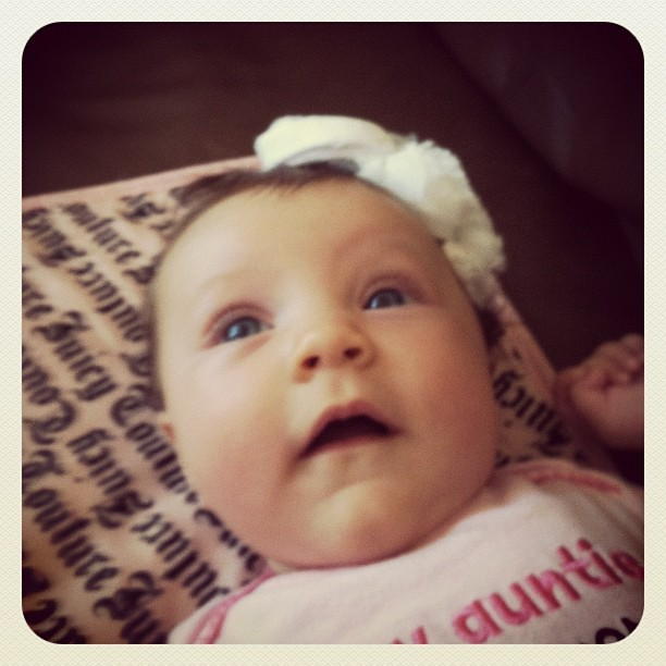 New baby cousin :) #cutest #baby (Taken with Instagram)