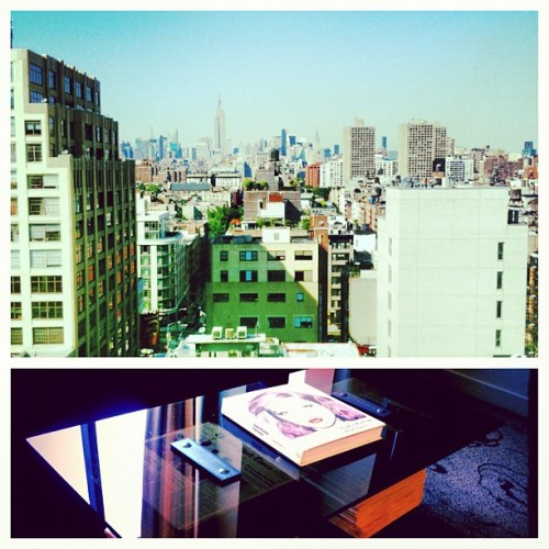 SoHo grand Hotel …view from the suite  #CHA$E #NYC  (Taken with Instagram)