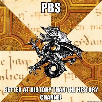 fyeahhistorymajorheraldicbeast:  This occurred to me the other night while watching PBS' new series about the history of England