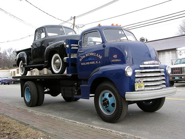 americabymotorcycle: Chevrolet COE by MGMatt on Flickr.
