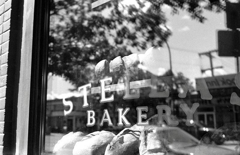 My local bakery Stella's. Great bread / M6 / 2012