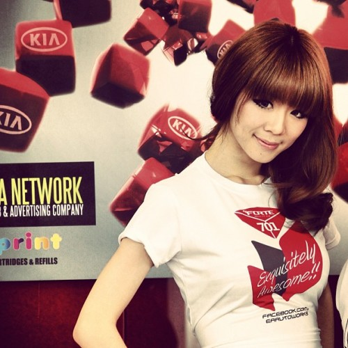#babe #hotchick (Taken with Instagram at KIA Red Cube)