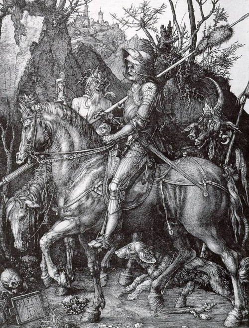 gravewithoutaname:  Knight, Death, and the Devil, 1513–14Albrecht Dürer