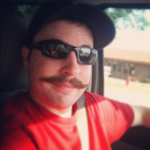 What is my life? #mustache (Taken with Instagram)