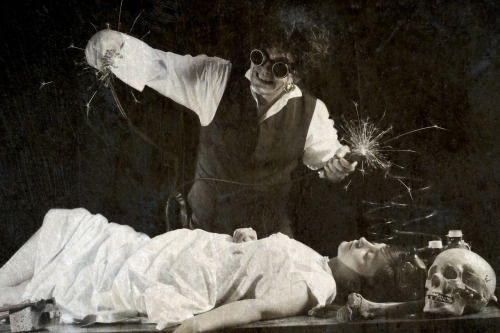 The finals from my Hammer Horror project. I think the mad scientist image has Character.