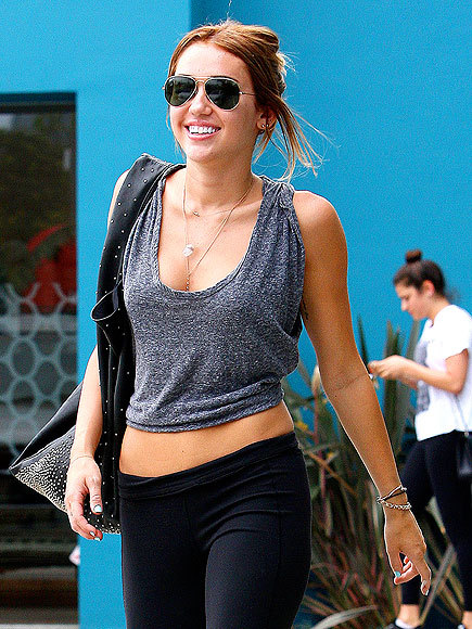 """I think people need to chill out."" - Miley Cyrus's Pilates instructor Mari Winsor, defending the young star's newly toned – and often criticized – physique"