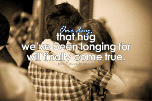 One day, that hug we've been longing for will finally come true. | Project One day,*One day, proudly presents One Love: a LDR community directory.