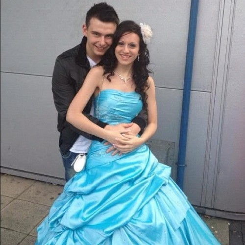 aw, me+my baby @ prom (Taken with Instagram)