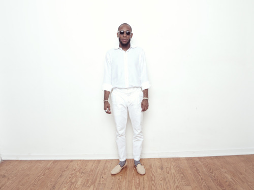 The Prototype.  coreywash:  streetetiquette:  Mos Def (Yasiin Bey) showing his support for our Street Etiquette Del Toro slippers. Respect. awolerizku:  Yasiin Bey with his awesome Street Etiquette loafers in my studio    Love this.