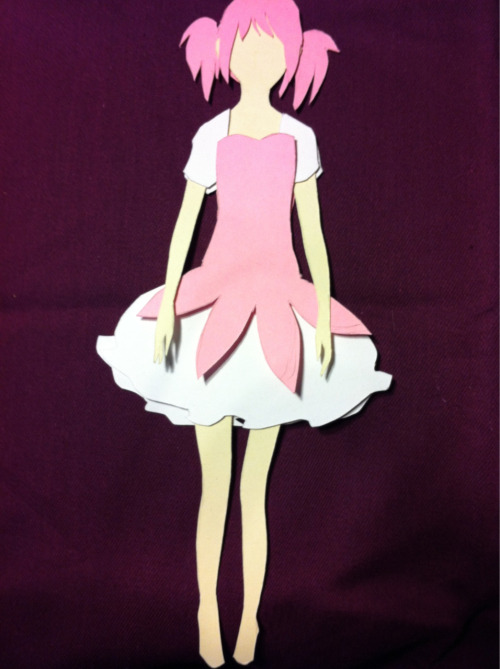 howlsrelativelypermanentcastle:  working on a Madoka  I have finished Madoka Magica. Phew! Sayaka Miki was my favorite character. I had most of the series spoiled to me before watching, excepting her arc. The deep dark sadness of her story is quality stuff.