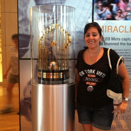 Excuse the sweatiness - #mets 1969 world series! #newyorkmets (Taken with Instagram)