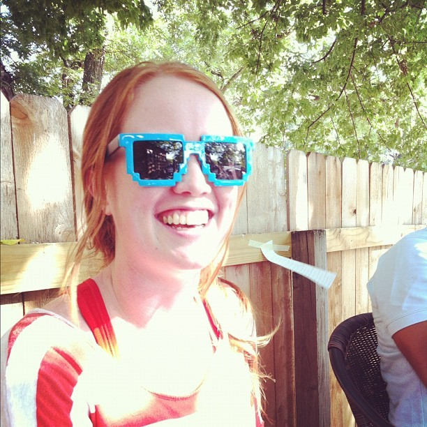 @maereed wearing @seand's awesome shades (Taken with Instagram)