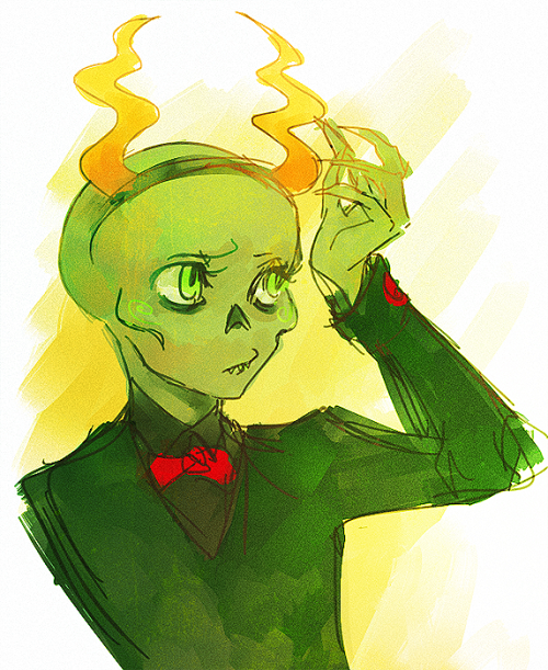 snowytown:  farts idk first time drawing calliope without an arm….. *u*;
