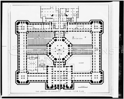 alapiseira:  PLAN | 263 | Library of Congress Thomas Jefferson Building | Washington, D.C.  | source